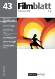 Cover: Filmblatt Nr. 43/2010