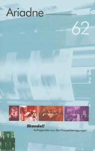 Ariadne Nr. 62 - Cover (c) Stiftung Archiv der deutschen Frauenbewegung