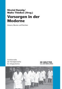 Cover Vorsorgen in der Moderne - (c) DeGruyter Oldenbourg